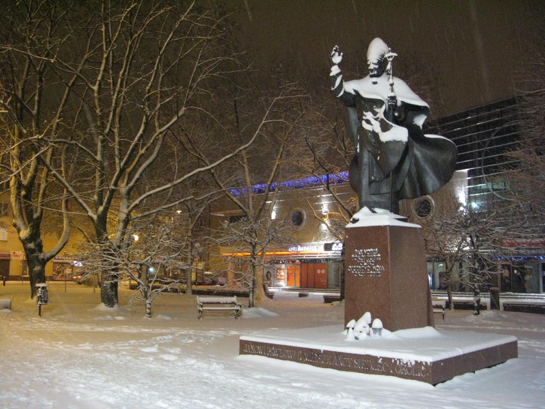 Pomnik św. Jana Pawła II, 2016 r.