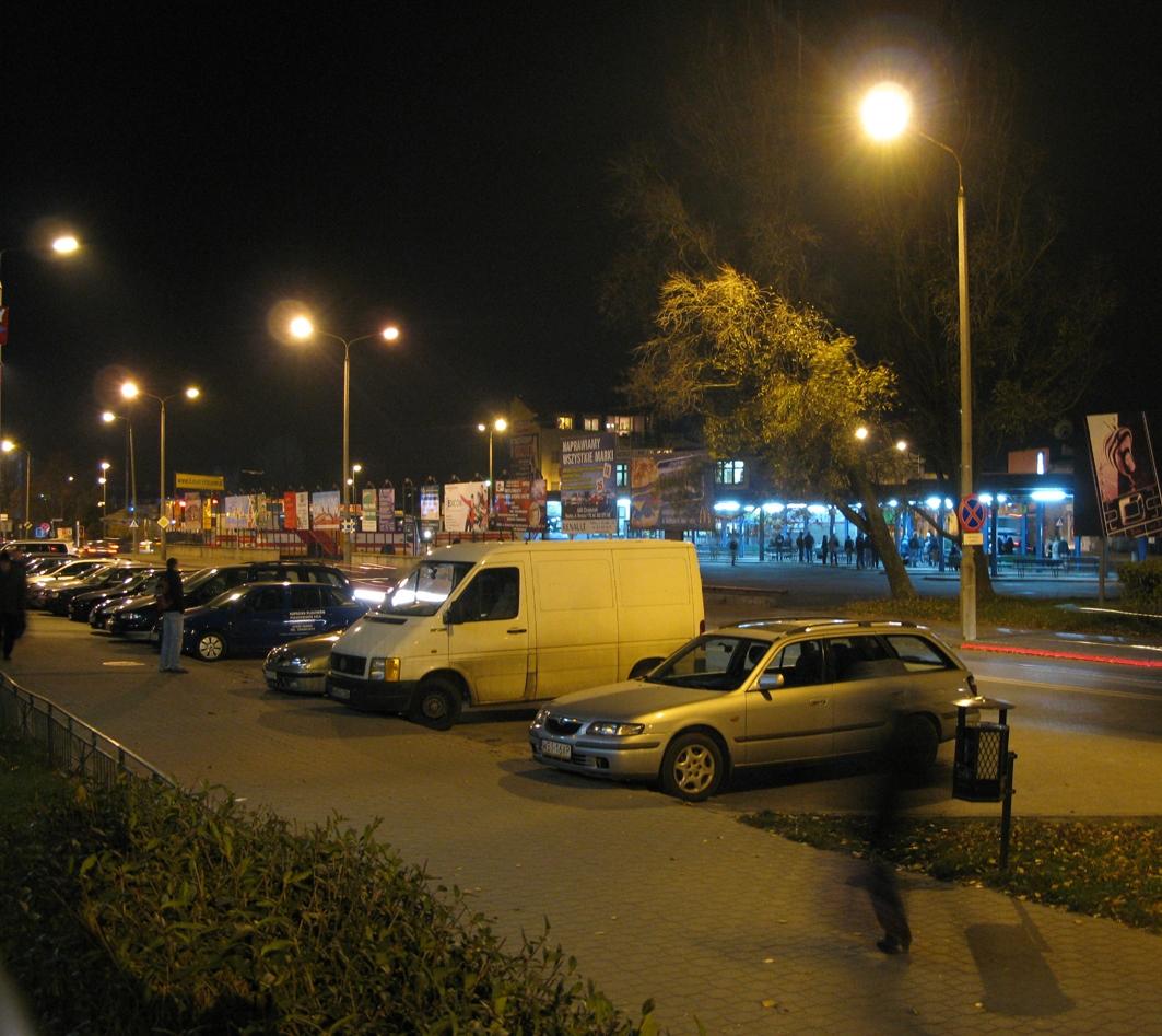 Ul. Armii Krajowej i dworzec autobusowy, 2009 r.