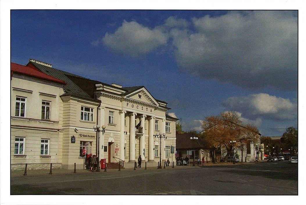 Budynek poczty z I poł. XIX w.