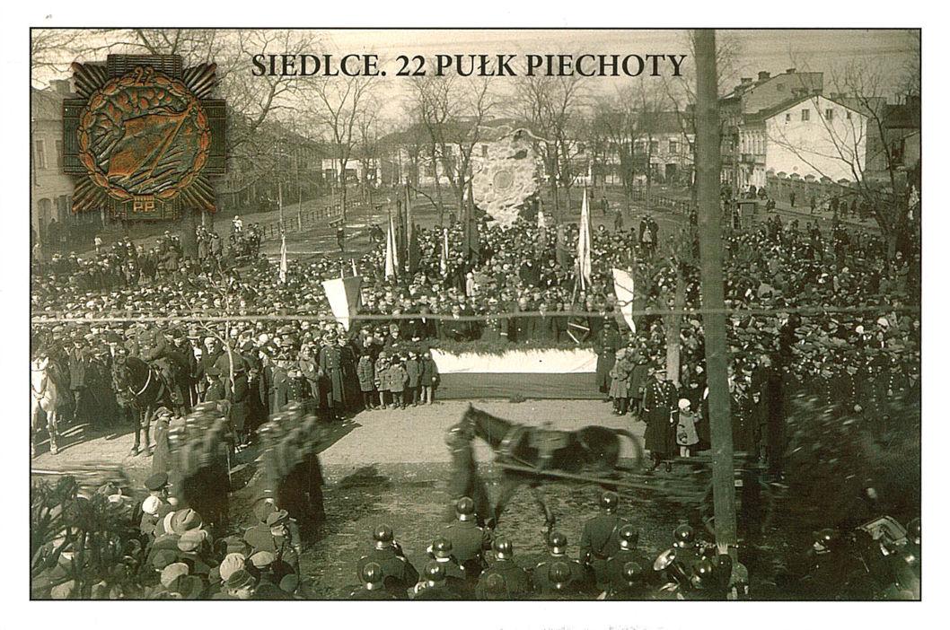 22 pukł piechoty przebywający w Siedlcach