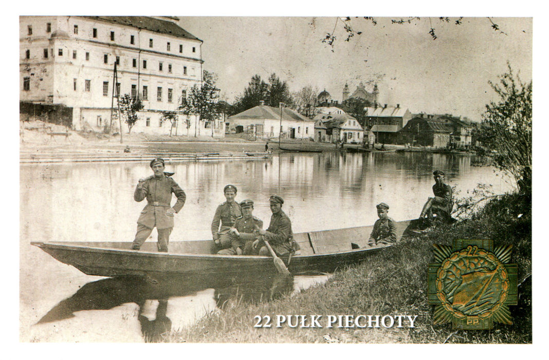 22 Pułk Piechoty na Polesiu Widok na Pińsk od strony rzeki Piny Widok na Pińsk od strony rzeki Piny
