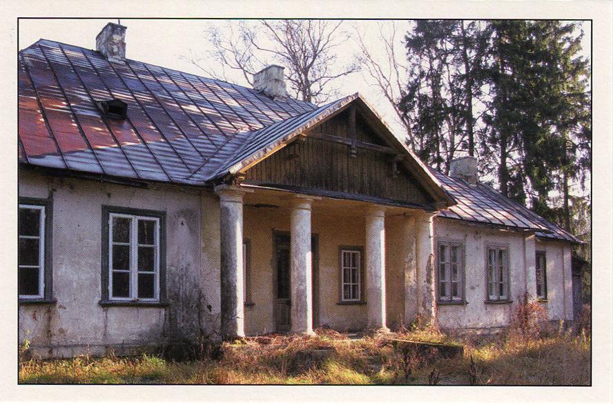 Dwór w Gręzowie - gmina Kotuń