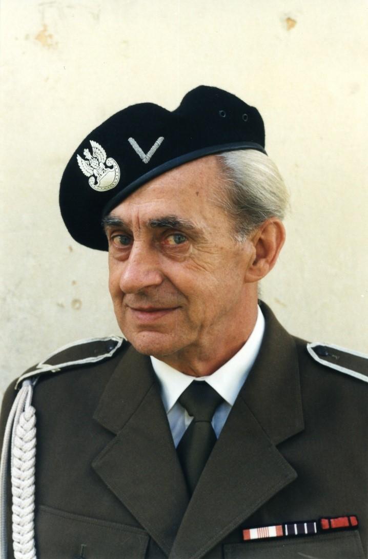 Portret mężczyzny w mundurze wojskowym