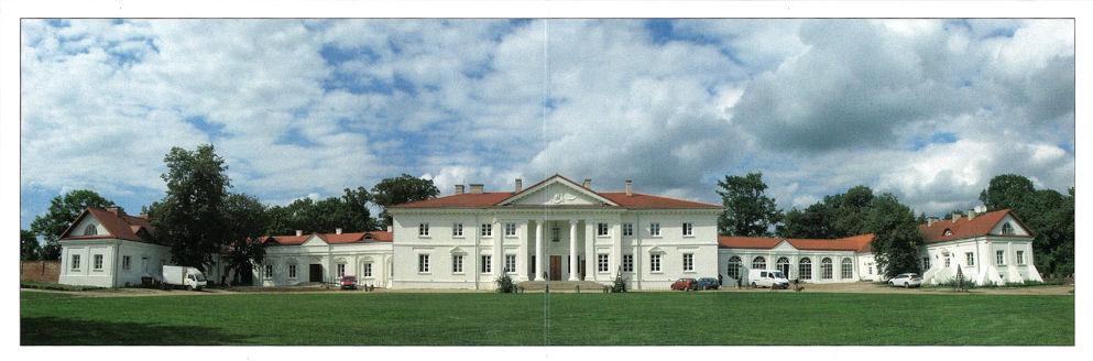 Pałac w Korczewie w powiecie siedleckim
