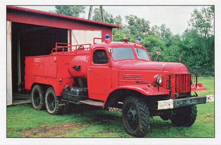 Samochód pożarniczy GBM z 1952 roku