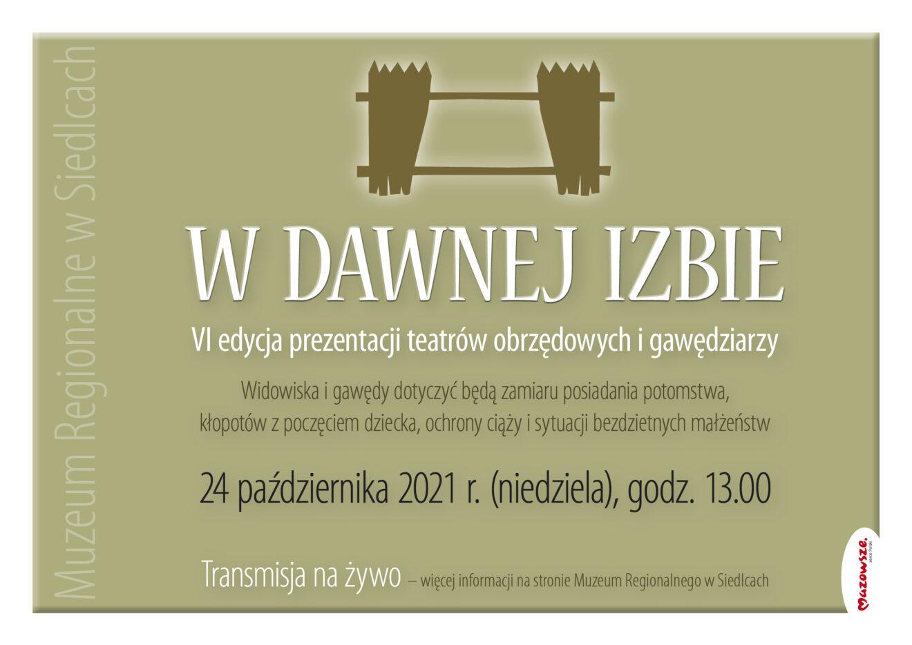 Plakat imprezy z programem